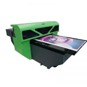 1800 A2 سائز نئے ڈیزائن ٹیکسٹائل فلیٹڈ گلاس پرنٹر پرنٹنگ مشین WER-D4880UV