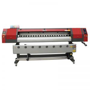 بینر WER-EW1902 کے لئے 1800mm 5113 ڈبل سر ڈیجیٹل ٹیکسٹائل پرنٹنگ مشین انکیکیٹ پرنٹر