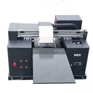 2018 یووی کی قیادت میں فلیٹڈ پرنٹر A4 DTG ٹی شرٹ علامت (لوگو) پرنٹنگ مشین WER-E1080T فروخت کے لئے