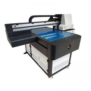 3D اثر / وارنش پرنٹنگ کے ساتھ A1 یووی پرنٹر ڈیجیٹل 6090 flatbed یووی پرنٹنگ مشین