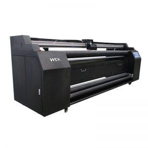 2 * DX5 sublimation پرنٹر کے ساتھ ٹیکسٹائل پرنٹر کو براہ راست WER-E1802T 1.8m
