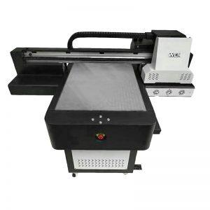 ڈیجیٹل UV flatbed انکیکیٹ براہ راست ٹیکسٹائل پرنٹر ٹی شرٹ DTG پرنٹر WER-ED6090T