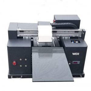ملٹی اعلی معیار A4 سائز UV ڈھانچہ پرنٹ پرنٹر WER-E1080T پر براہ راست